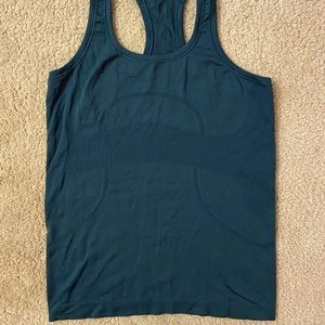lululemon athletica Tops - lululemon blue swiftly tech tank top